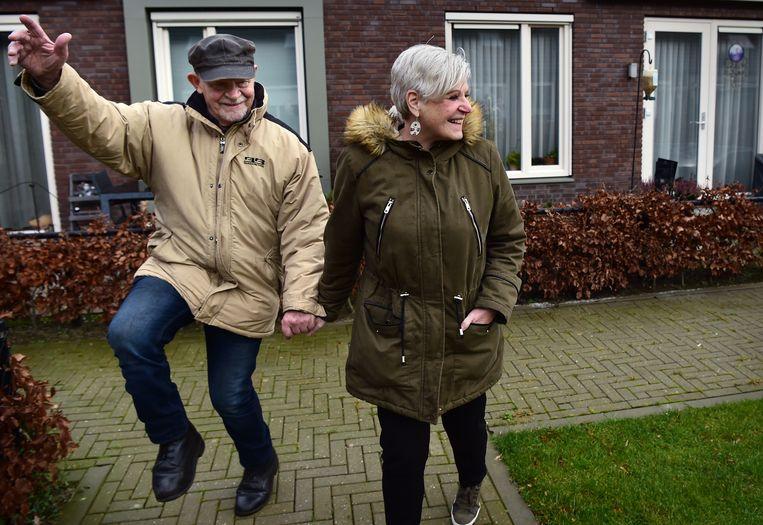 Wijk Knarrenhof is een wooncoöperatie voor senioren die sociaal samen en zelfstandig willen wonen. De wijk heeft hofjes en men helpt elkaar.  Beeld Marcel van den Bergh / de Volkskrant
