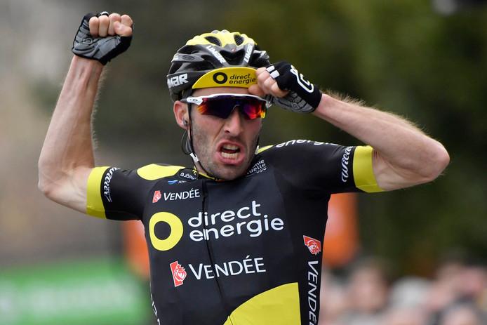 Jonathan Hivert won eerder al een etappe in Parijs-Nice.
