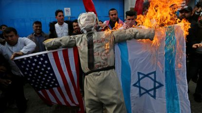 Vredesplan Trump zet Gaza in lichterlaaie