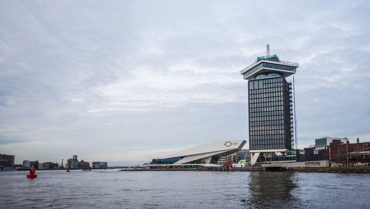 Initiatiefnemers hopen dat het observatiedek niet alleen buitenlandse toeristen trekt, maar ook Amsterdammers. Beeld Eva Plevier
