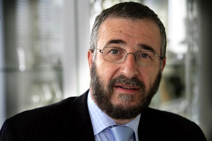 Rabbijn Lody van der Kamp.
