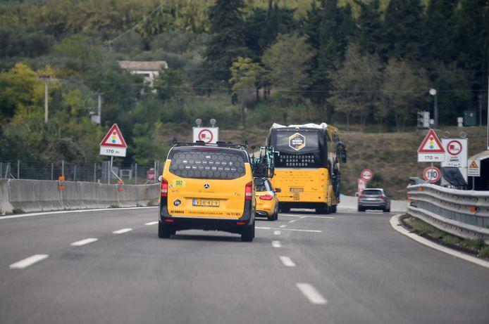 Jumbo-Visma verlaat de Giro.