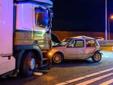 A58 tussen Etten-Leur en Sint Willebrord weer vrij na ongeluk