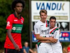 Jong NEC door hattrick Van Zundert in promotiepoule