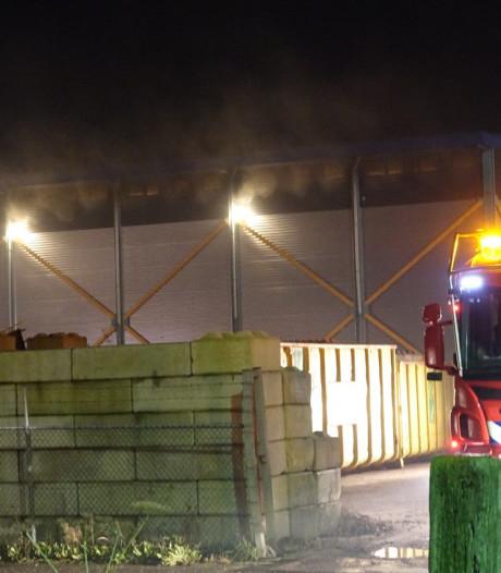 Brandweer rukt uit voor grote brand in Balkbrug