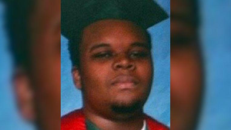 Michael Brown Jr, de ongewapende tiener die neergeschoten werd door een blanke politieman.