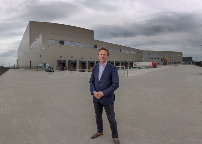 De nieuwbouw van Euroma in Zwolle.