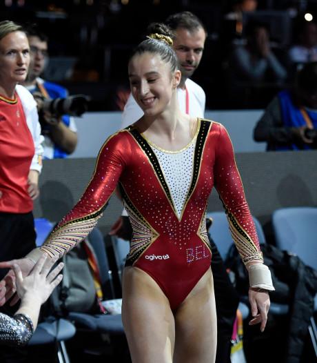 Nina Derwael 5e du concours général, Simone Biles sacrée pour la 5e fois