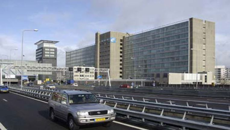 Het GAK-kantoor gezien vanaf de A10. Foto BMA Beeld