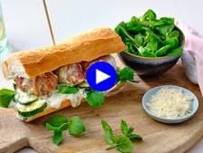Comfort food pour petits et grands: pain-boulette version exotique