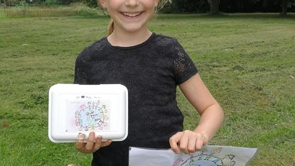 Fiona wint Europese tekenwedstrijd