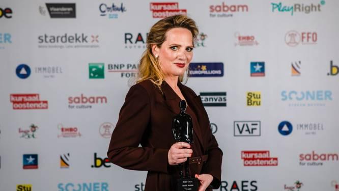 """'De Patrick' en 'De Twaalf' domineren Ensors, Maaike Cafmeyer wint beeldje voor 'Beste tv-actrice': """"Deze prijs komt op een moedig moment in m'n leven"""""""