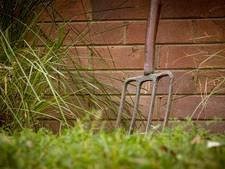 Man aangehouden omdat hij buurman met een mestvork stak