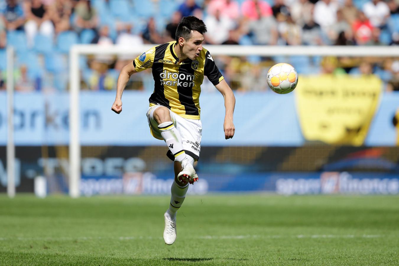 Vyacheslav Karavaev, rechtsback van Vitesse
