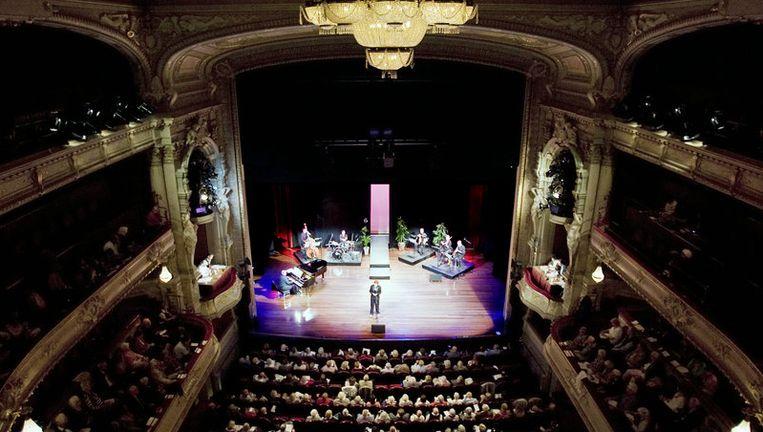 TEDx was vorig jaar voor het eerst in Nederland, een uit de Verenigde Staten overgewaaid fenomeen. Dit jaar vindt het plaats in de Amsterdamse Stadsschouwburg. Foto ANP Beeld
