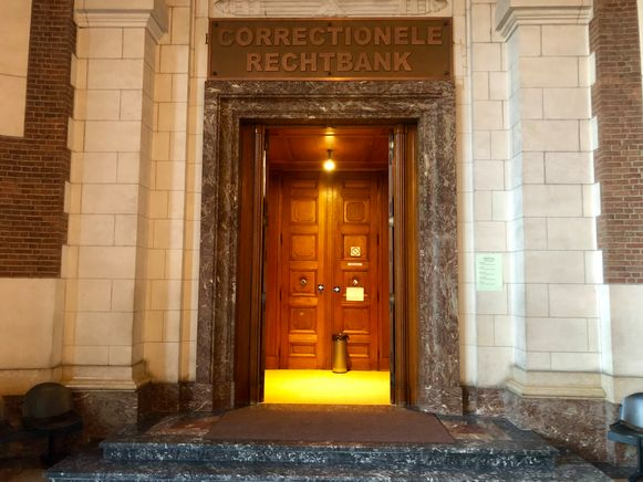De correctionele rechtbank in Leuven waar  de man zich kwam verdedigen.