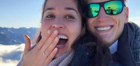 Kromowidjojo en Weertman gaan trouwen: 'Helemaal in de wolken'