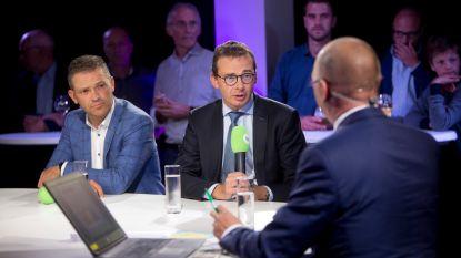 Mondeling akkoord tussen sp.a, Open Vld en CD&V niet langer zeker