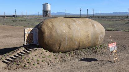 Fan van patatten? Overnacht eens in een enorme aardappel in Idaho