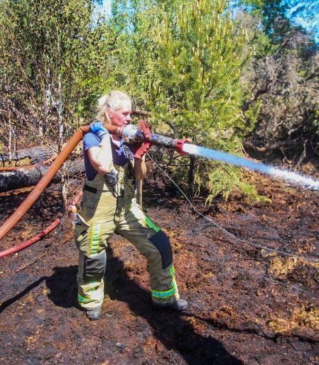 Brand in natuurgebied De Stippelberg geblust