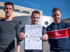 Drie vwo-ers stippelen toekomst uit voor Zwin College in profielwerkstuk