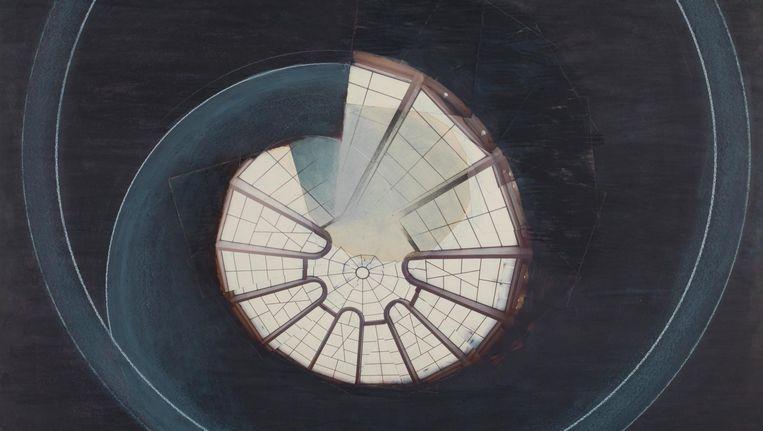 Ook Guggenheim II van Jan Dibbets zal te zien zijn Beeld Adriaan van Dam