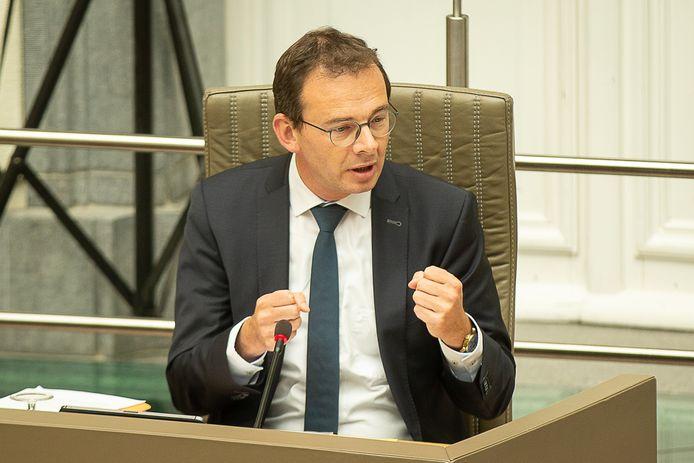 Wouter Beke, ministre flamand de la Santé publique et du Bien-être.