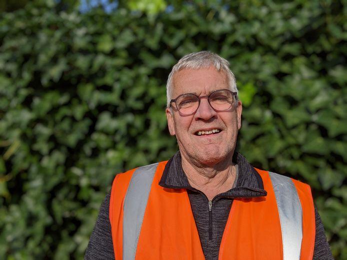 Atze Appelo, groenwerker (buitencoördinator) in Zevenbergen