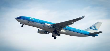KLM-vlucht omgeleid vanwege agressieve passagiers
