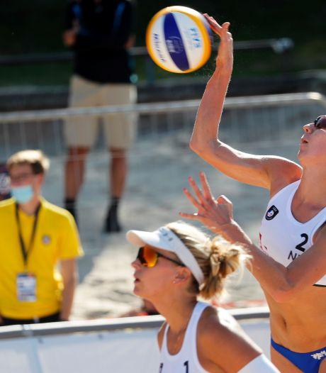 Van Iersel en Ypma sneuvelen in achtste finales EK beachvolleybal