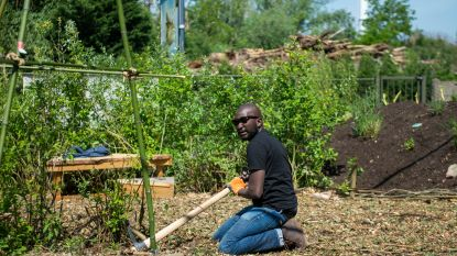 Bewoners leggen laatste hand aan buurttuin De Wildgroei