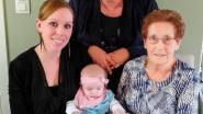 Geboorte Lise zorgt voor viergeslacht