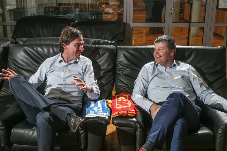 Gaat de beker naar KAA Gent of KV Mechelen? Mathias De Clercq en Bart Somers claimen hem allebei.