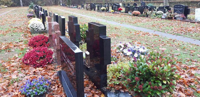 Begraafplaats 't Loo in Nistelrode.