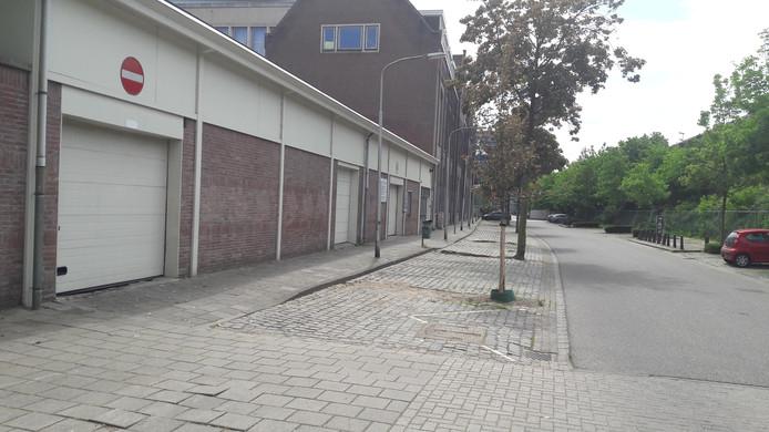De tippelzone in Nijmegen.