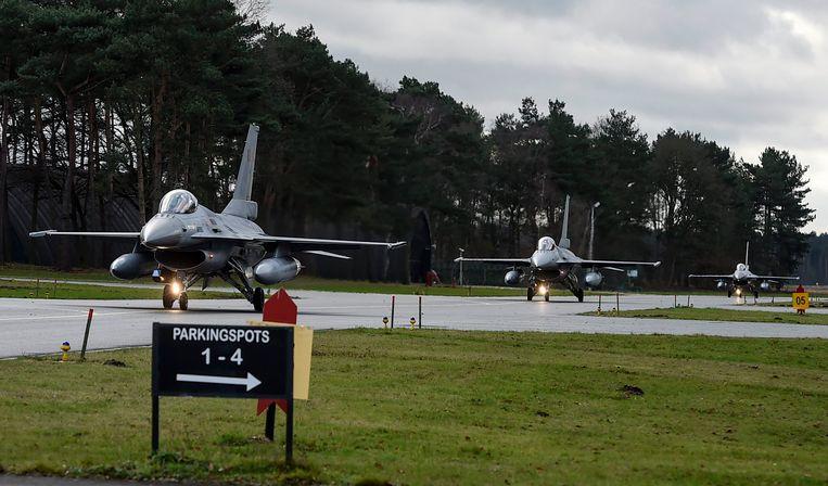 In het model dat Lockheed Martin uittekende, moeten de oudste F-16's pas in 2029 uit dienst worden genomen.
