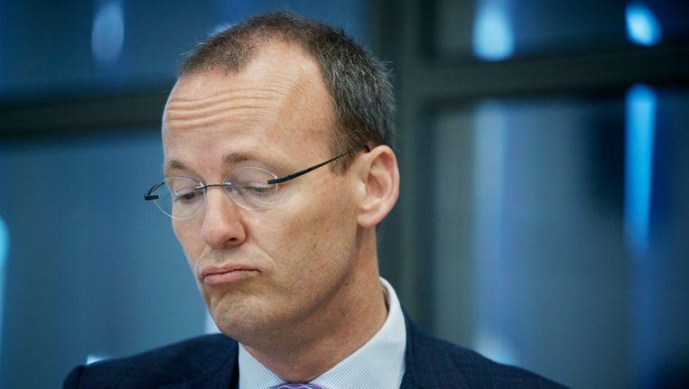 De president van de Nederlandse Bank (DNB) Klaas Knot. Beeld anp