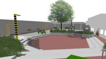 Nieuwe speelplaats voor basisschool Klim-Op