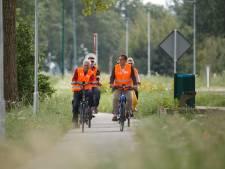 Eindelijk weer veilig fietsen langs de Appelaarsedijk in Fijnaart