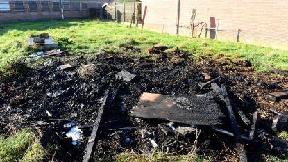 'Loodsbrand' blijkt afvalbrand