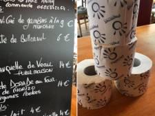 Ce restaurant offre un rouleau de papier toilette pour chaque plat commandé