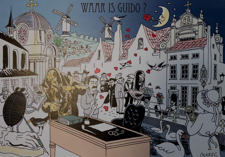 'Waar is Wally' kenden we al, 'Waar is Guido' is een nieuwe uitdaging voor speurneuzen.