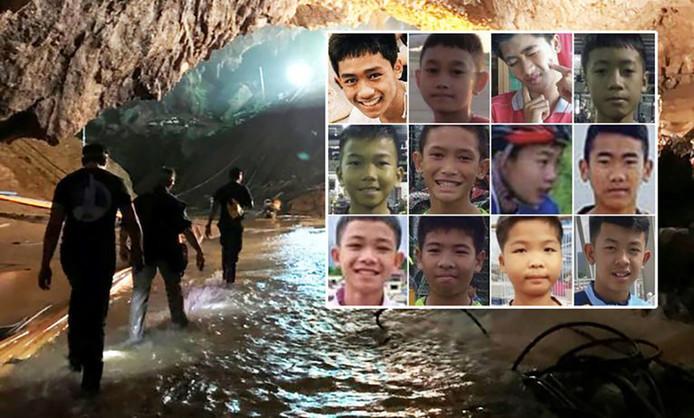 Afbeeldingsresultaat voor thaise voetballertjes grot