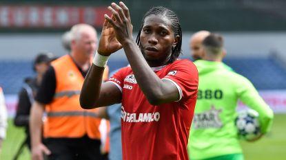 VIDEO. Mbokani loodst Antwerp voorbij Charleroi