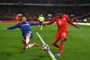 Davies liet tegen Chelsea zien nog steeds over voldoende aanvallende kwaliteiten te beschikken.