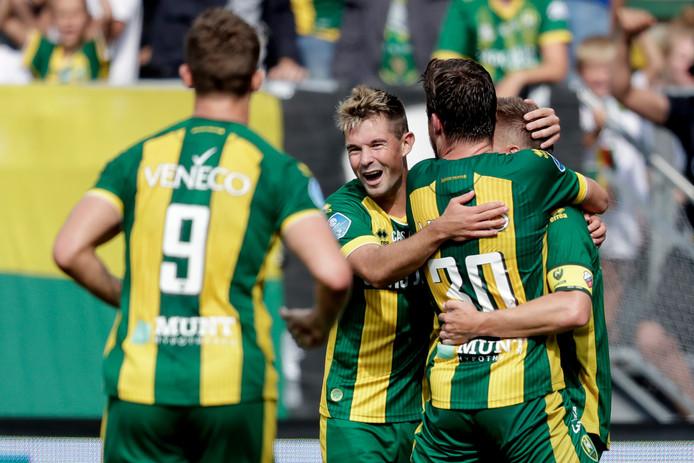 ADO Den Haag begon nog goed aan de wedstrijd.