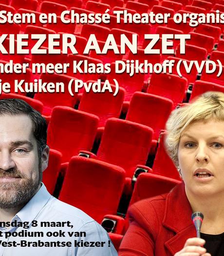 De Kiezer aan Zet!, verkiezingsdebat van BN DeStem en Chassé Theater