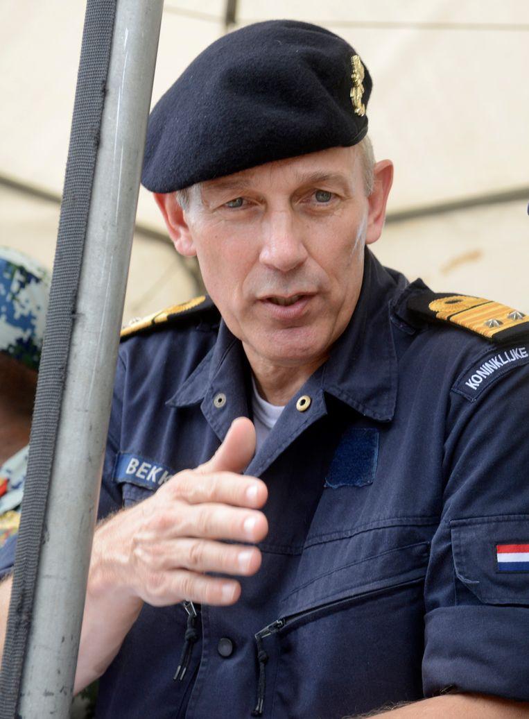 Ben Bekkering in 2013. Beeld AFP