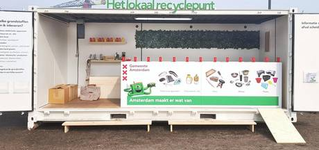 De Pijp krijgt recyclepunt voor klein afval