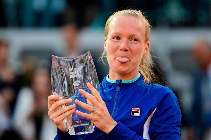 Kiki Bertens mag zich met haar vierde plaats op de wereldranglijst de hoogst geplaatste Nederlandse ooit noemen.